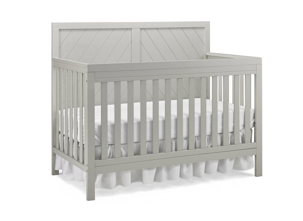 Fisher Price Buckland Misty Grey Convertible Crib FSRP-124501-23