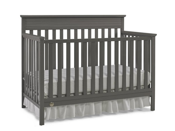 Fisher Price Newbury Stormy Grey Convertible Crib FSRP-123701-14
