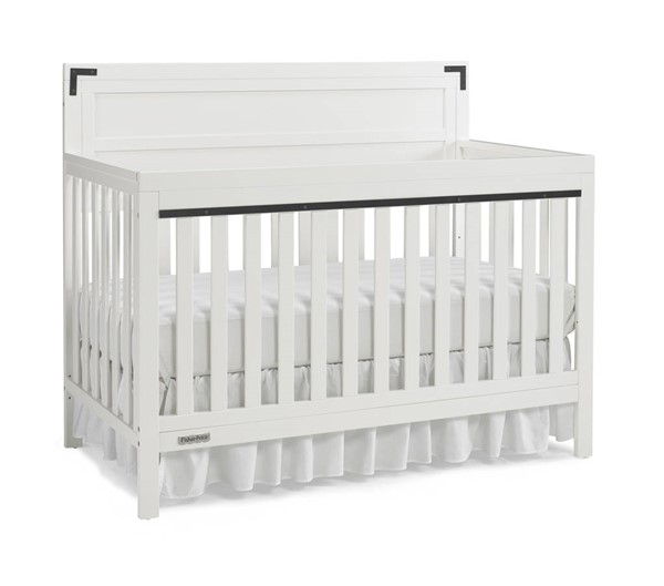Fisher Price Paxton Snow White Convertible Cribs FSRP-136601-CRB-VAR