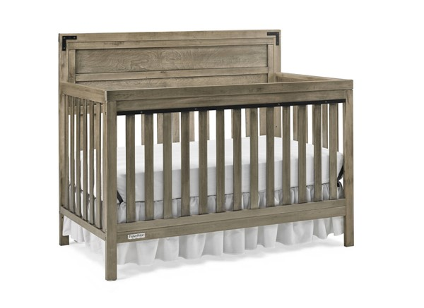 Fisher Price Paxton Vintage Grey Convertible Crib FSRP-136601-19