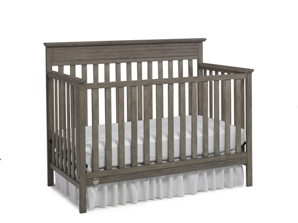 Fisher Price Newbury Vintage Grey Convertible Crib FSRP-123701-19