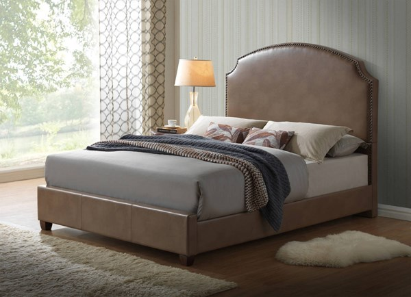 8372 Series Blanche Walnut Beds GL-8372-ABC-BEDS