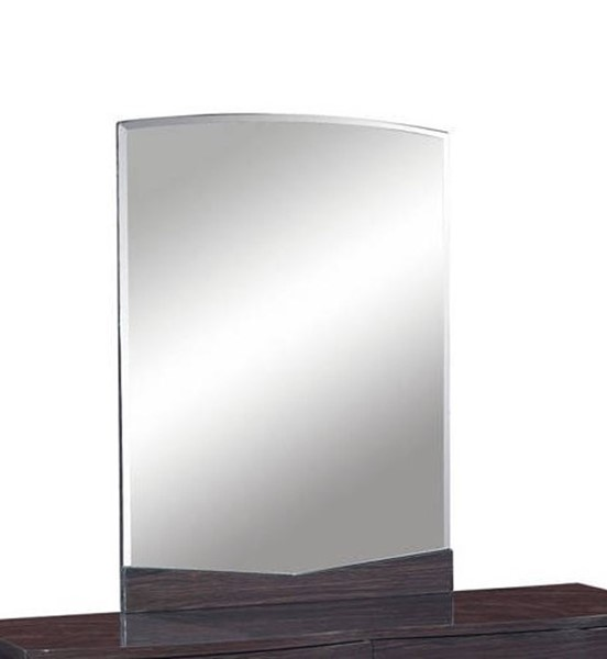 Global Furniture Aurora Wenge Mirror GL-AURORA-W-M-M