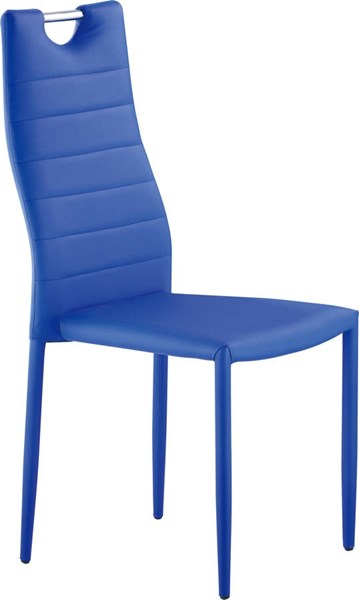 D1538 Series Blue Stackable Dining Chair GL-D1538DC-B