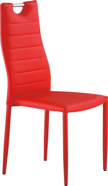 D1538 Series Red Stackable Dining Chair GL-D1538DC-R