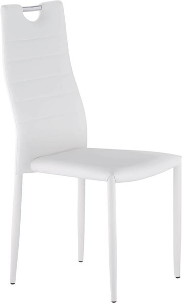 D1538 Series White Stackable Dining Chair GL-D1538DC-WH