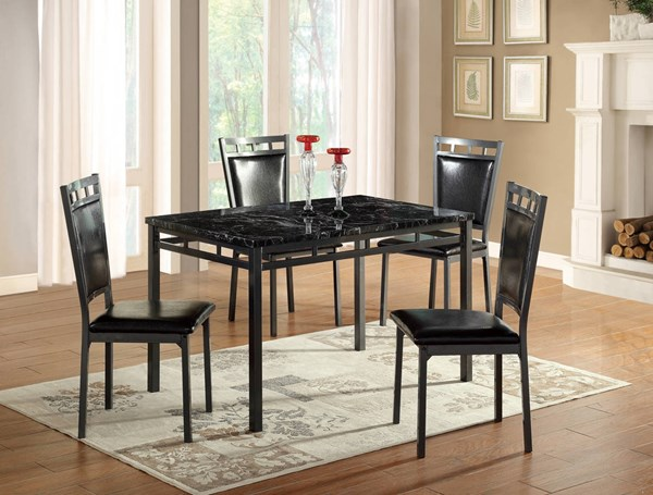 D195 Series Black Dining Room Set GL-D195