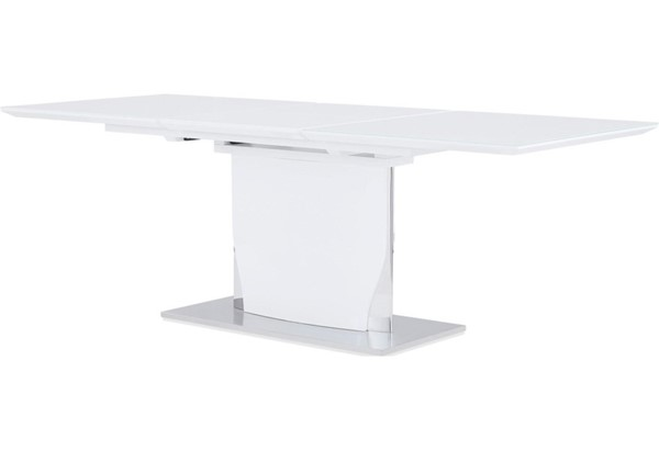 Global Furniture D2279 White High Gloss Dining Table GL-D2279DT