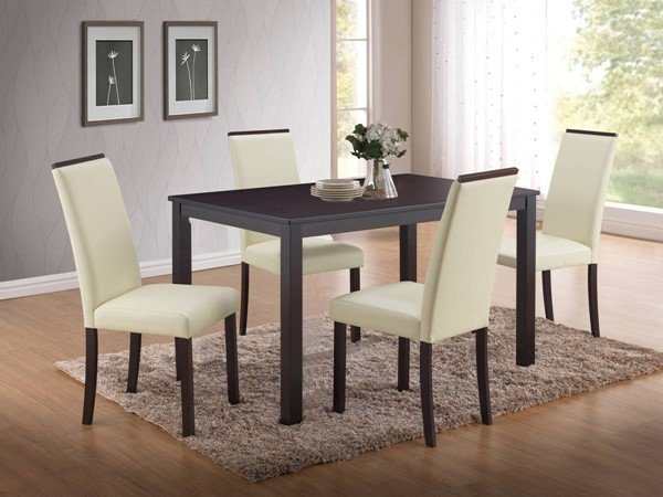 D3048 Series Cappuccino Dining Table GL-D3048DT-M