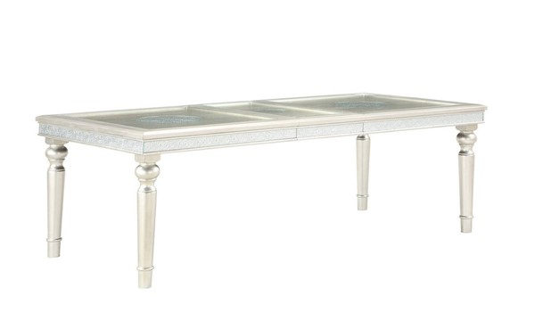 Global Furniture Silver MDF Dining Table GL-D3355DT-EXT