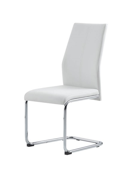 4 Global Furniture D41 White Dining Chairs GL-D41DC-WHITE