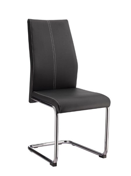 4 Global Furniture D41 Black Dining Chairs GL-D41DC-BLACK