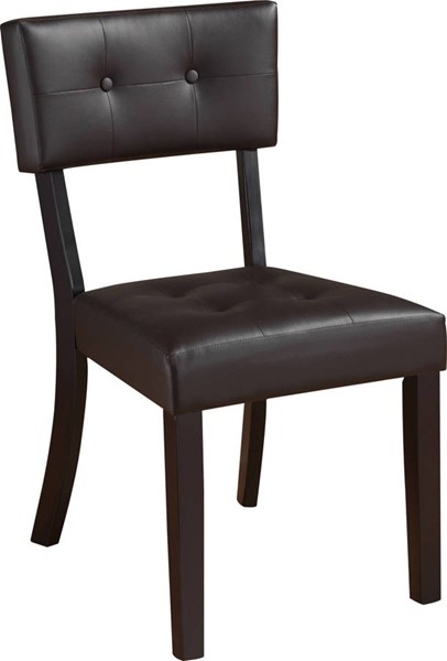D4848 Series Brown Beige PVC Dining Chair GL-D4848DC-VAR