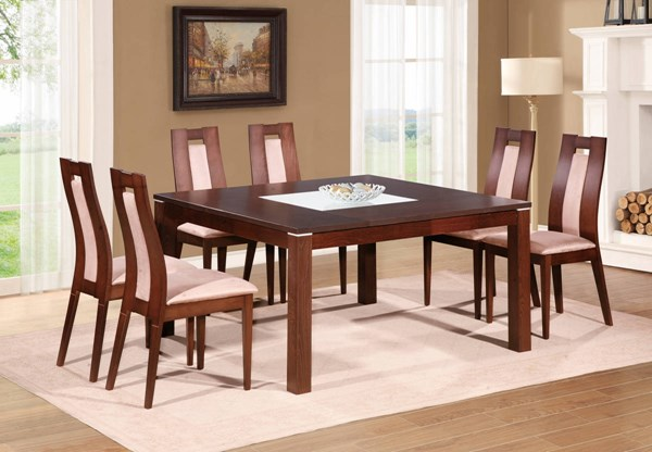 D4921-D3905 Series Burn Beech 5pc Dining Room Set GL-D4921DT-D3905DC-4DC
