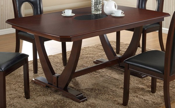 D5003 Series Cappuccino Dining Table GL-D5003DT-M