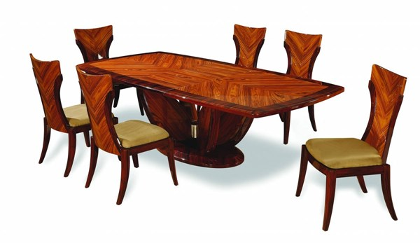 D52 Series Kokuten Wenge Wood Dining Tables GL-D52-DT-VAR