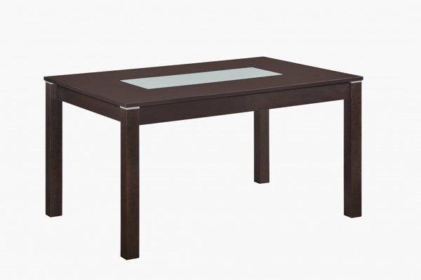 D6948 Series Transitional Dark Walnut Dining Table