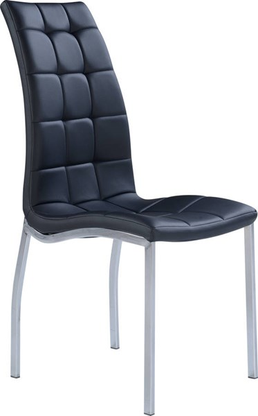 4 Global Furniture D716 Black Dining Chairs GL-D716DC-M