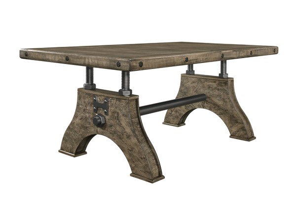 Global Furniture D855 Brown Dining Table GL-D855DT-BR