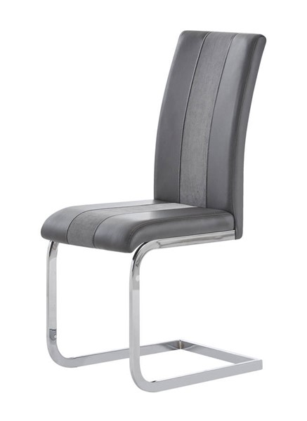 4 Global Furniture D915 PU Dining Chairs GL-D915DC-DR-CH-VAR