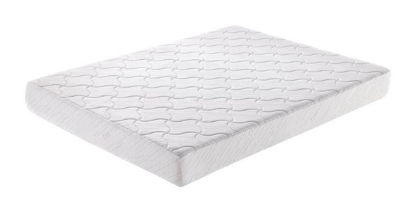 White Fabric 8 Inch Gel Queen Mattress (L 80 X W 60 X H 8) GL-LOFT-Q-mat
