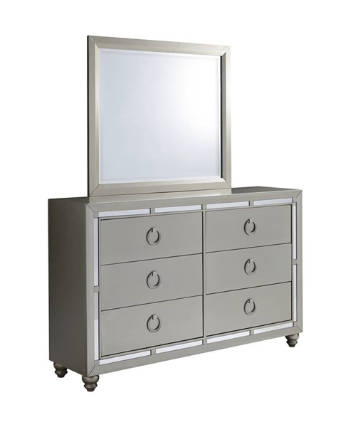 Global Furniture Riley Dresser and Mirror GL-RILEY-1621-DRMR