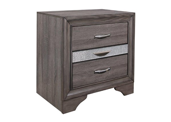 Global Furniture Seville Grey Night Stand GL-SEVILLE-MALAMINE-GREY-NS