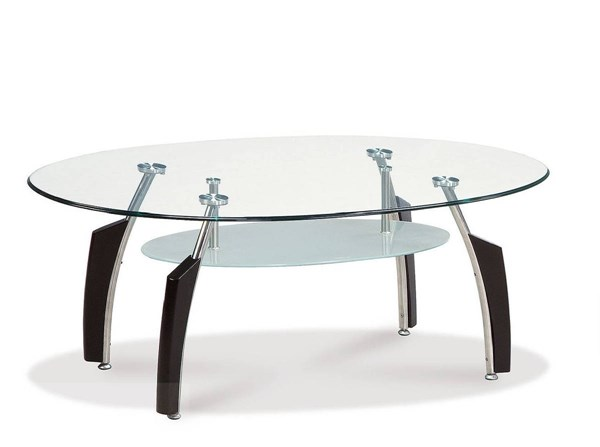Global Furniture T138 Black Coffee Table