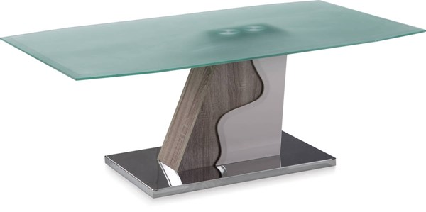 Sonoma Glossy Beige Rectangle Coffee Table GL-T13905C