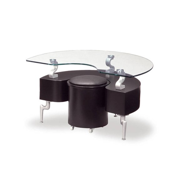 Global Furniture T288 Black End Table GL-T288BE-M