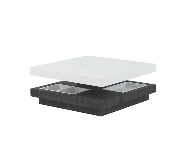 Global Furniture T53 White Grey Coffee Table GL-T53C