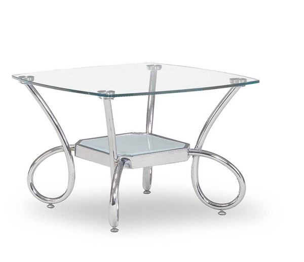 Global Furniture T559 Silver End Table GL-T559E