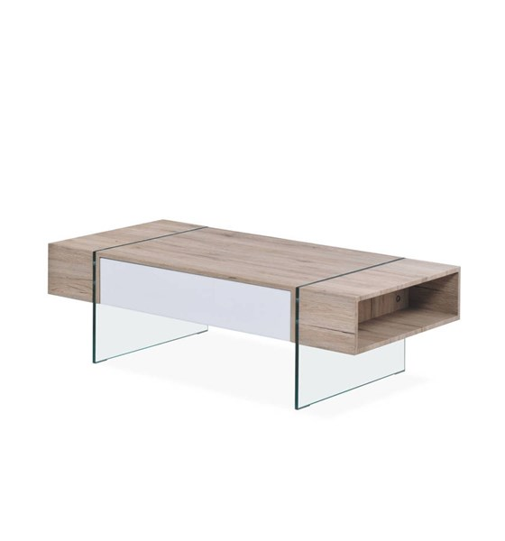 Sanremo Tempered Glass Legs Coffee Table GL-T80C