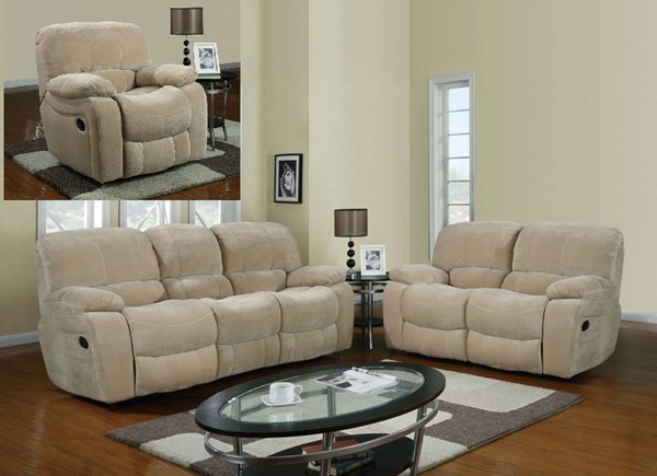 Champion Froth Wood Fabric Living Room Set GL-U2007