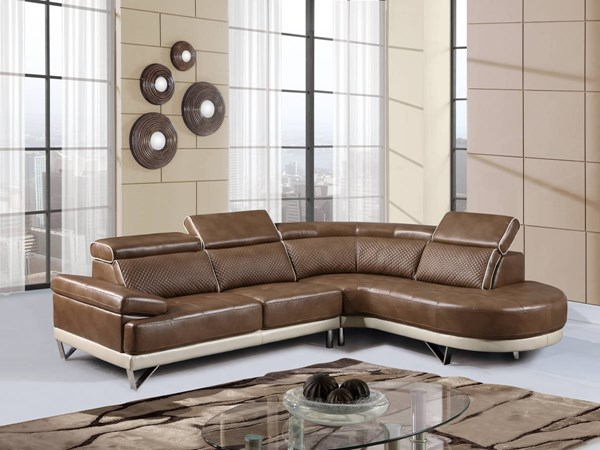 Global Furniture U7730 Sectional GL-U7730-SECTIONAL-M