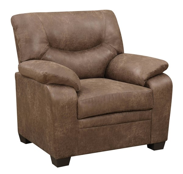 U880028 Series Mocha Printed Microfiber Chair GL-U880028-XW2-MOCHA-CHAIR-M