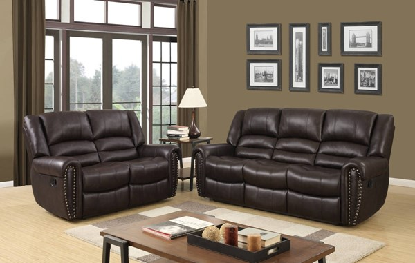 U98782 Series Brown PU Living Room Set GL-U98782