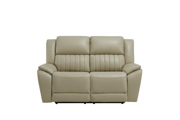 Global Furniture UM014 Beige Power Reclining Loveseat GL-UM014-DTP672-43-BEIGE-PRLS