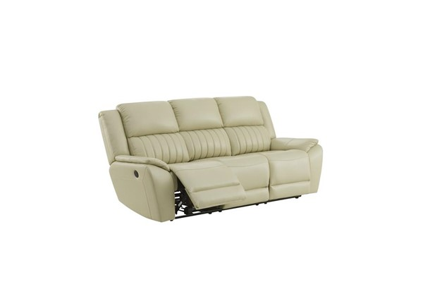 Global Furniture UM014 Beige Power Reclining Sofa GL-UM014-DTP672-43-BEIGE-PRS