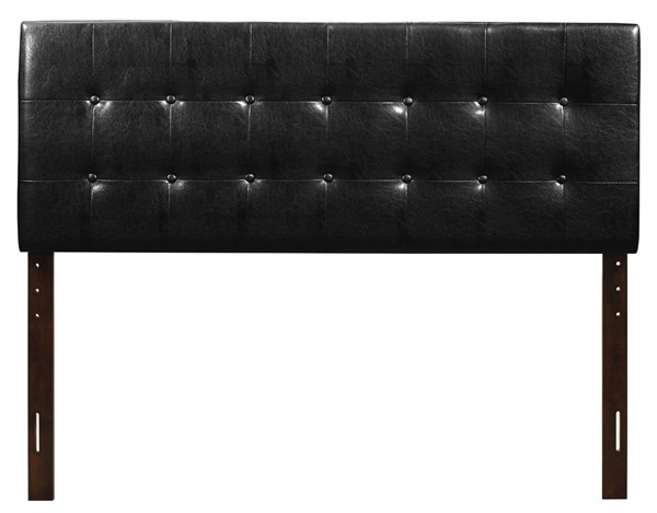 Glory Furniture Super Nova Black Fabric Full Headboard GLRY-G0128-FHB