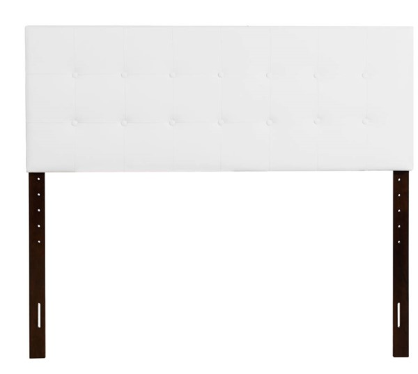 Glory Furniture Super Nova White Fabric Queen Bed GLRY-G0129-QHB