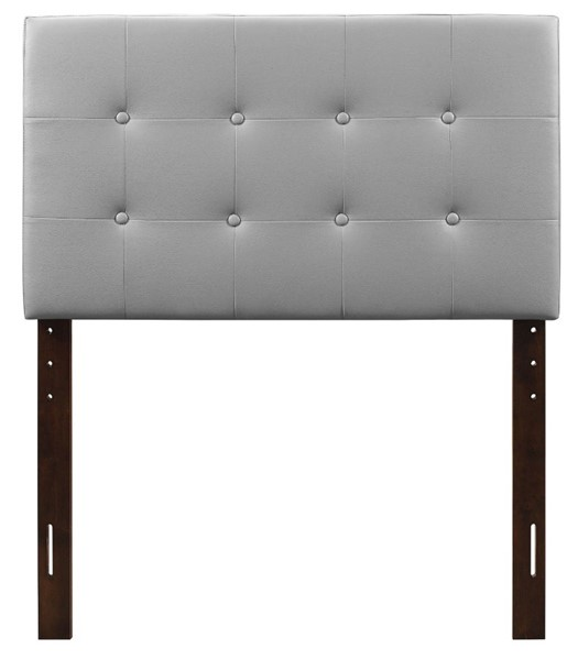 Glory Furniture Super Nova Light Grey Fabric Twin Headboard GLRY-G0130-THB