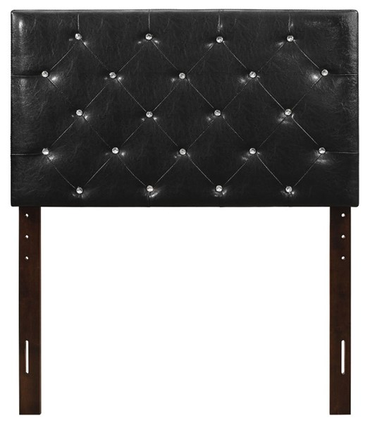 Glory Furniture Super Nova Casual Black Twin Panel Headboard GLRY-G0132-THB