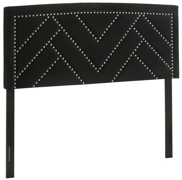 Glory Furniture Angela Black Fabric Queen Headboard GLRY-G0144-QHB