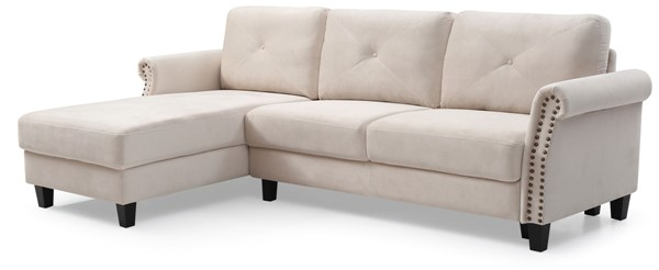 Glory Furniture Riverside Beige Sectional GLRY-G0174B-SC