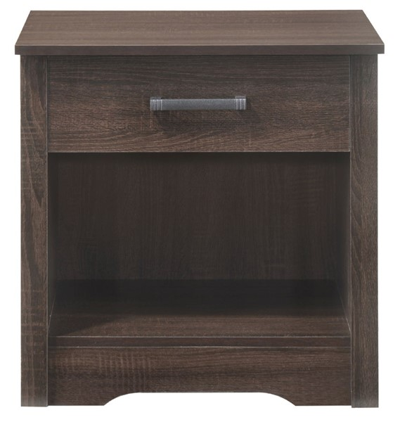 Glory Furniture Hudson Contemporary Wenge 1 Drawer Nightstand GLRY-G031-N