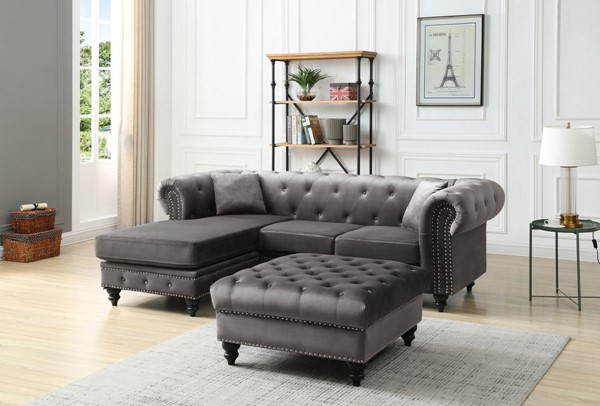 Glory Furniture Nola Sectionals With Ottomans GLRY-G0350-LR-S-VAR