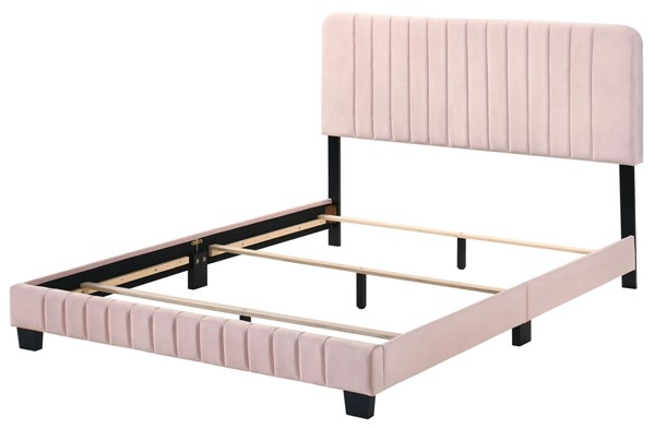 Glory Furniture Lodi Pink King Bed GLRY-G0406-KB-UP