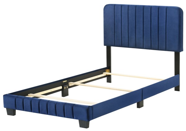 Glory Furniture Lodi Navy Blue Twin Bed GLRY-G0409-TB-UP
