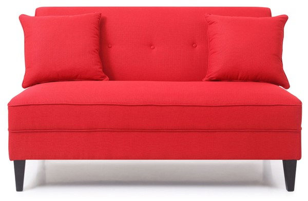 Glory Furniture Merril Red Fabric Sofa GLRY-G052-S